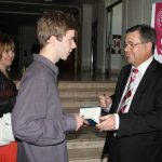 With a Education Minister Ivan Mikolaj
