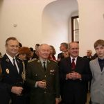 With a Defence Minister of Slovakia and generals