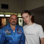 With the first Slovak astronaut Ivan Bela