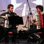Accordion Concert with my friend